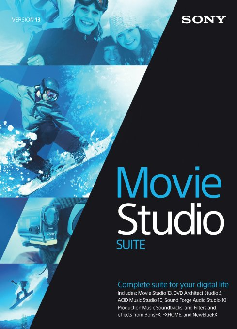 Sony Vegas Movie Studio Suite 13 EDU WIN